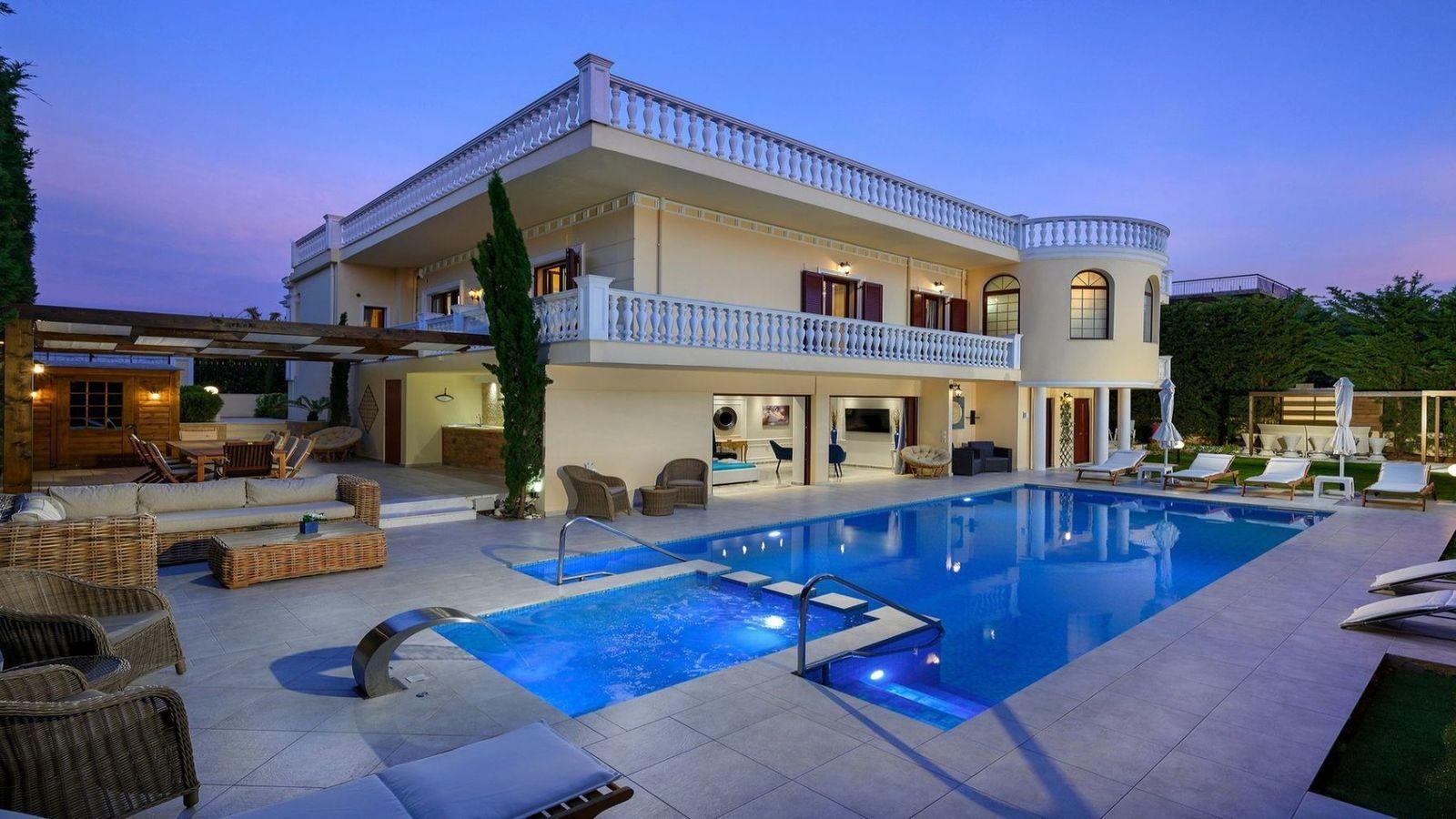 Крит вилла отдых квартиры в бяле