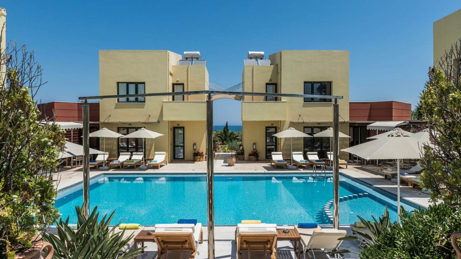 Отдых в апартаментах греции